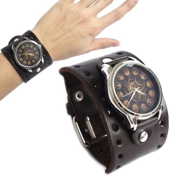jewels brown watch watch ziz watch ziziztime