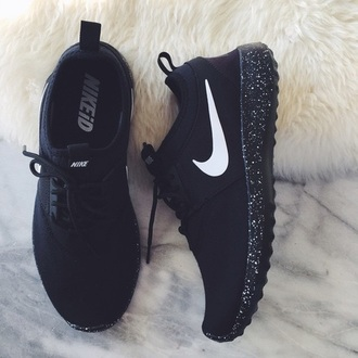shoes nike black sneakers