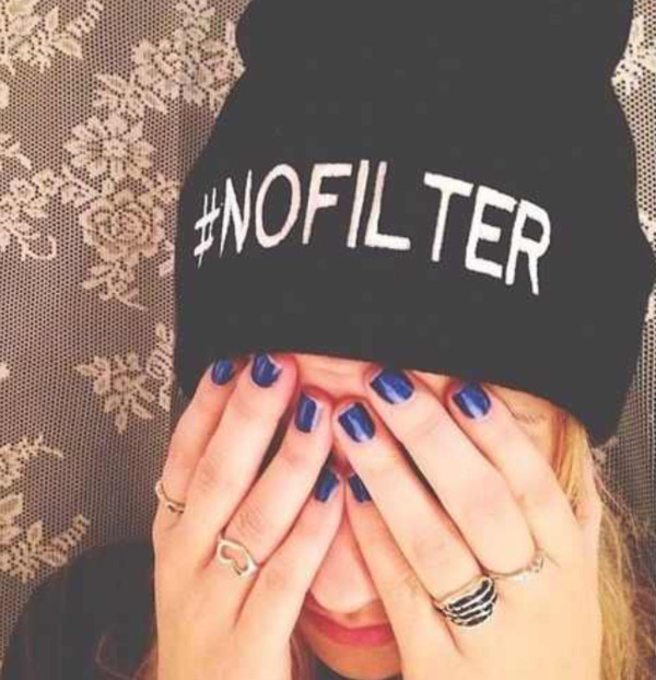 hat beanie nails ring