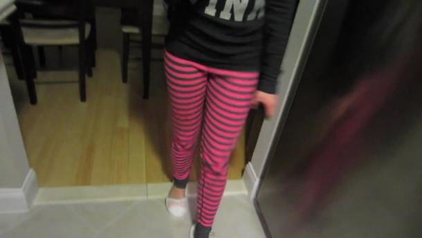 pink pants pajamas pajama pants women's lounge pants stripes long john's cotton pants