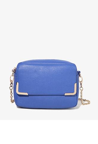 Punchy Metal Trim Shoulder Bag | FOREVER21 - 1000049837