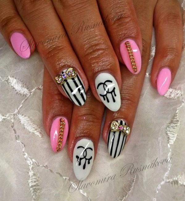 nail polish nails pink nail art
