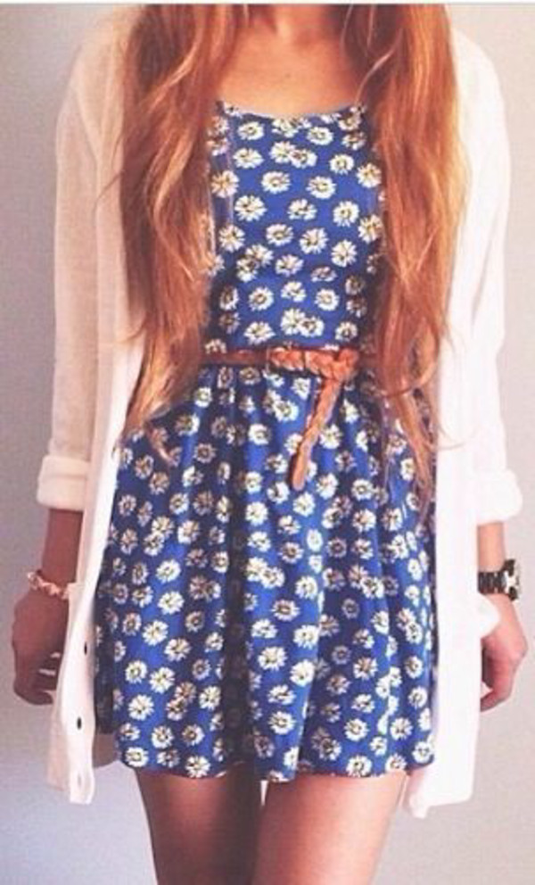 dress belt daisy
