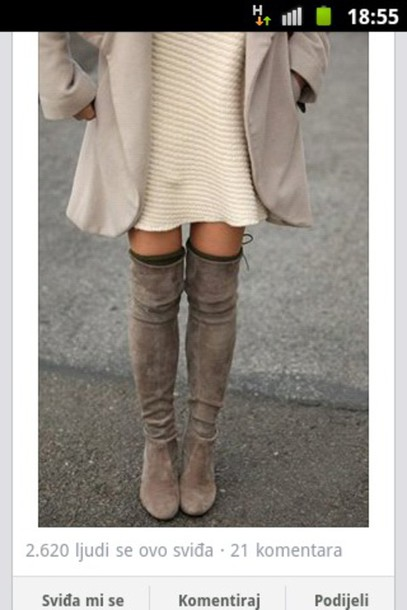 shoes boots boots over knee