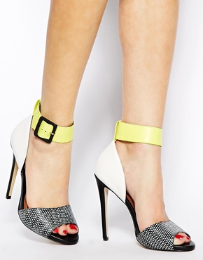ALDO | ALDO Areridda Colour Block Heeled Sandals at ASOS