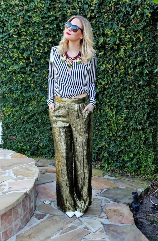 b soup blouse jewels sunglasses pants shoes
