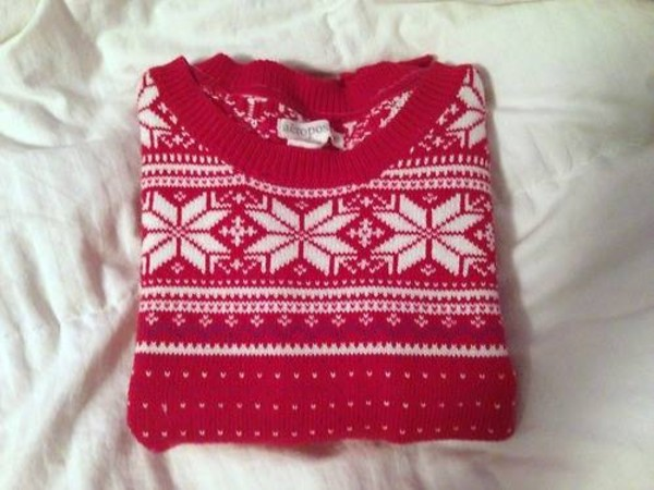 sweater snowflake sweater