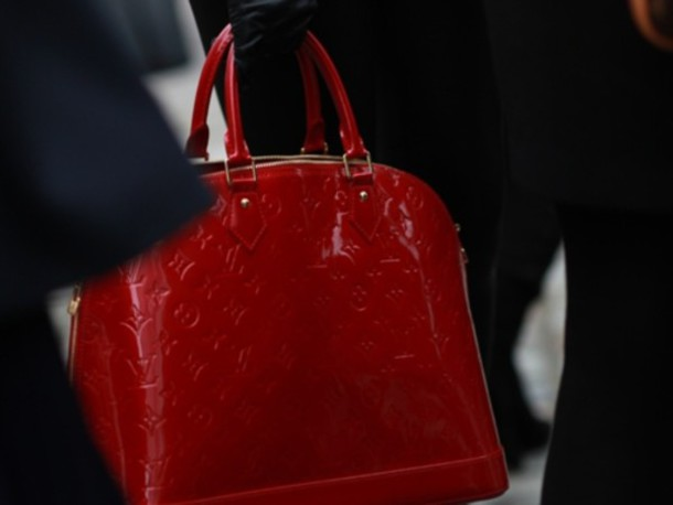 bag red louis vuitton all red wishlist