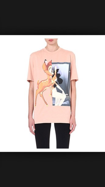 t-shirt givenchy pink