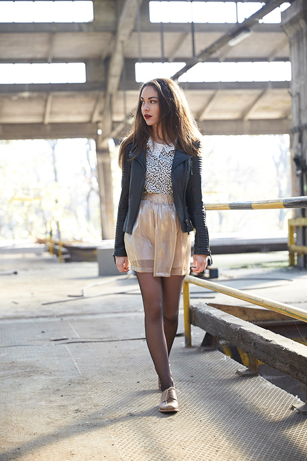 olympia t-shirt shirt skirt jacket shoes