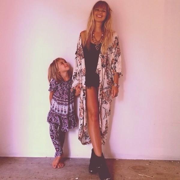 long cardigan floor length hippie hippie indie arnhem_clothing kimono coat