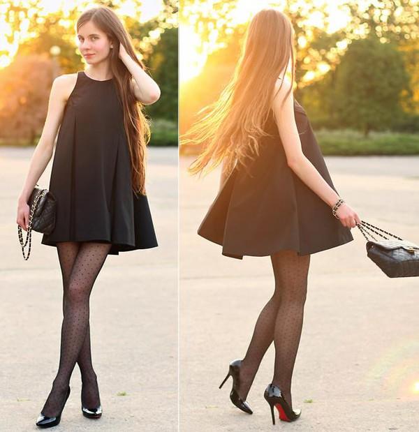 black dress little black dress formal where did u get that clothes style fashionsta dress fashionista streetwear louis vuitton chanel chanel bag