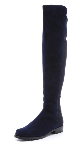 Stuart Weitzman 5050 Stretch Suede Boots   SHOPBOP