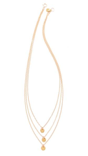 Gorjana Three Disc Necklace | SHOPBOP