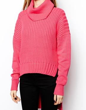 Three Floor | Three Floor Gathering Knitted Sweater at ASOS