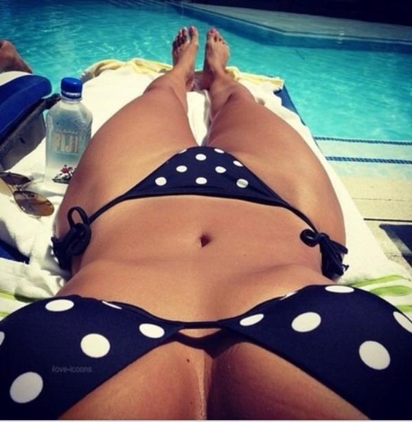 swimwear polka dots polka dot bikini