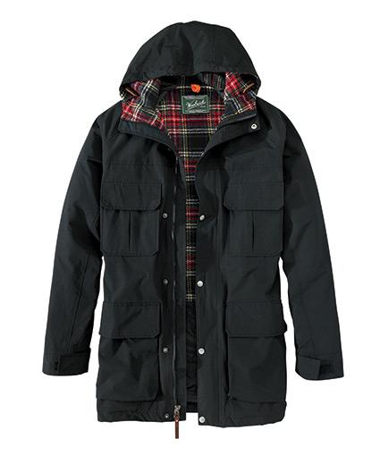 Men's Wool-Lined Mountain Parka