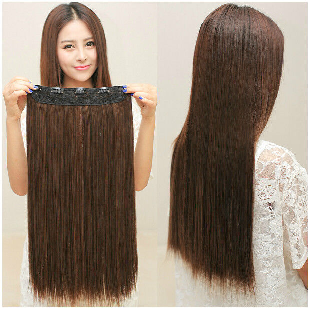Thickest hair extensions clip in hair extensions om hair 150g thick full head one piece clip in remy human hair extensions hairpiece 30 pmusecretfo Gallery