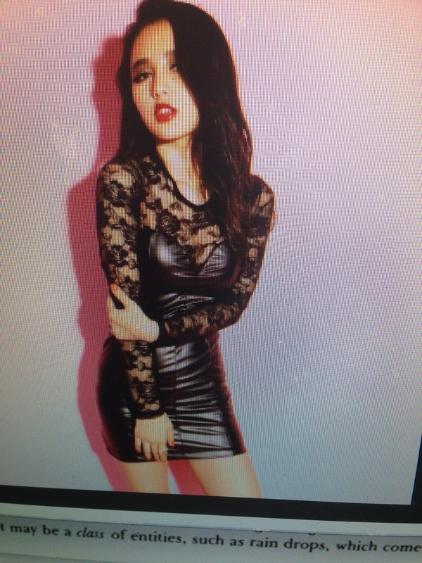 dress black dress black lace cute clubwear leather