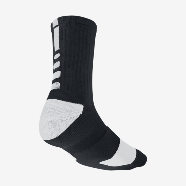 Nike Dri-FIT Elite Crew Basketball Socks (Large). Nike Store