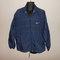 Vintage 90s nike navy blue zip up windbreaker jacket sz l