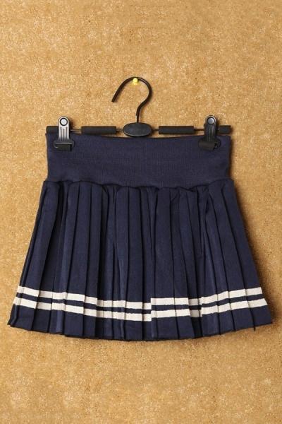 Salior Pleated Mini Skirt - OASAP.com