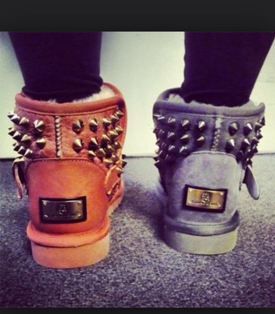 shoes boots spikes