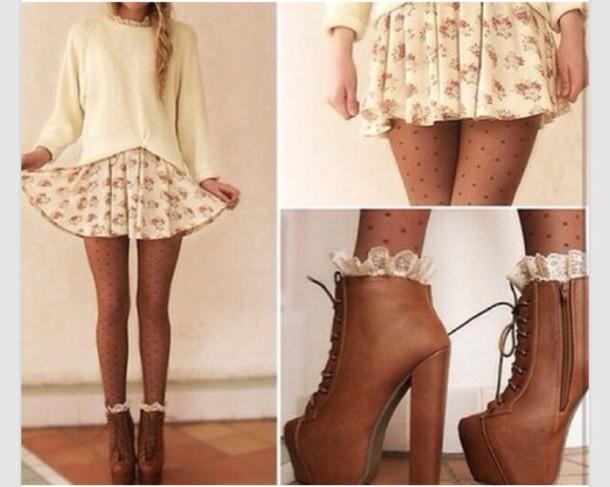 tights skirt