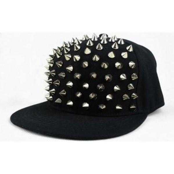 hat black peak cap hat