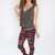 Tribe Vibe Leggings - Burgundy
