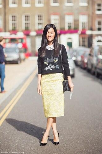gary pepper vintage sweater shirt skirt jewels shoes bag
