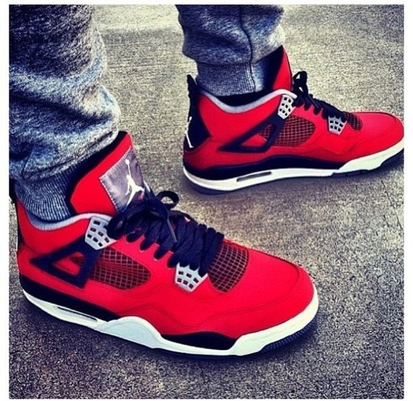 shoes jordans nike red