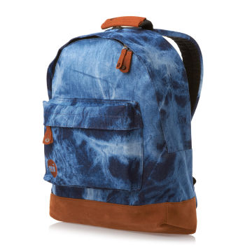 Mi-Pac Denim Dye Backpack - Blue | Free UK Delivery on All Orders
