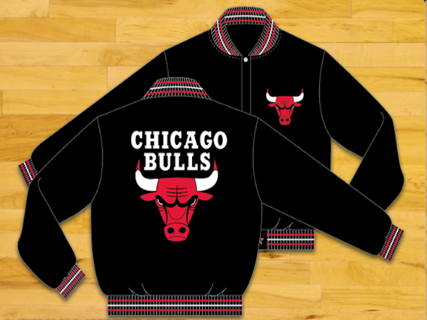 Chicago Bulls NBA jacket , Chicago Bulls JH Design Jackets