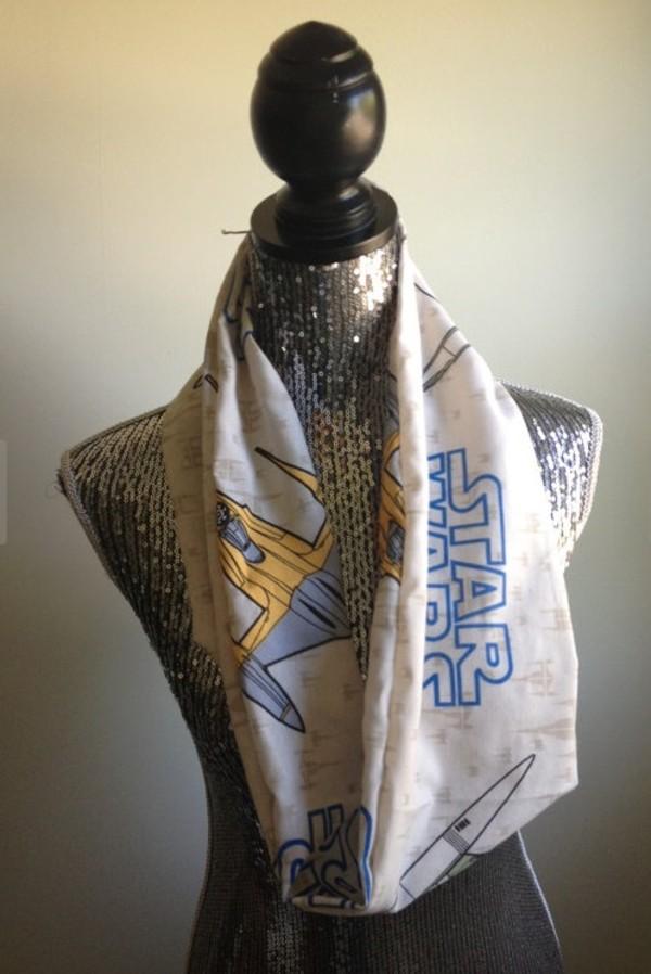scarf infinity scarf star wars vintage 90s style