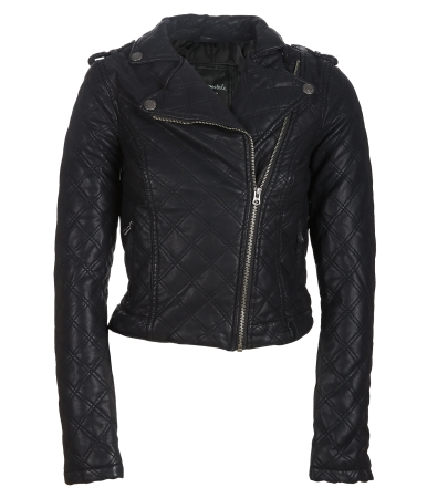 Quilted Bomber Jacket -