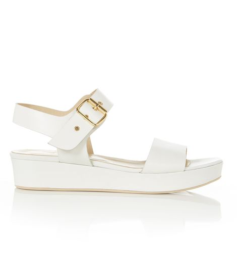 White Selma Sandal | Flats | Shoes and Boots | Hobbs USA