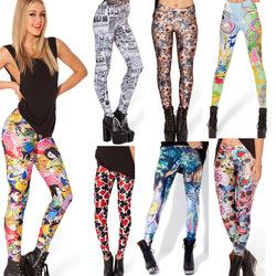 Online Shop 2014 NEW Adventure time legging tie dye footless leggings fitness women galaxy pants 3D pattern novelty Leggings free shipping|Aliexpress Mobile