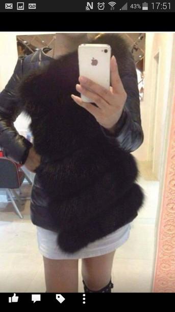 coat noir