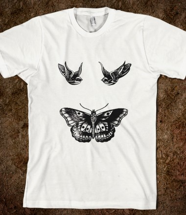 Harry's tattoos  - One Direction Apparel - Skreened T-shirts, Organic Shirts, Hoodies, Kids Tees, Baby One-Pieces and Tote Bags Custom T-Shirts, Organic Shirts, Hoodies, Novelty Gifts, Kids Apparel, Baby One-Pieces   Skreened - Ethical Custom Apparel