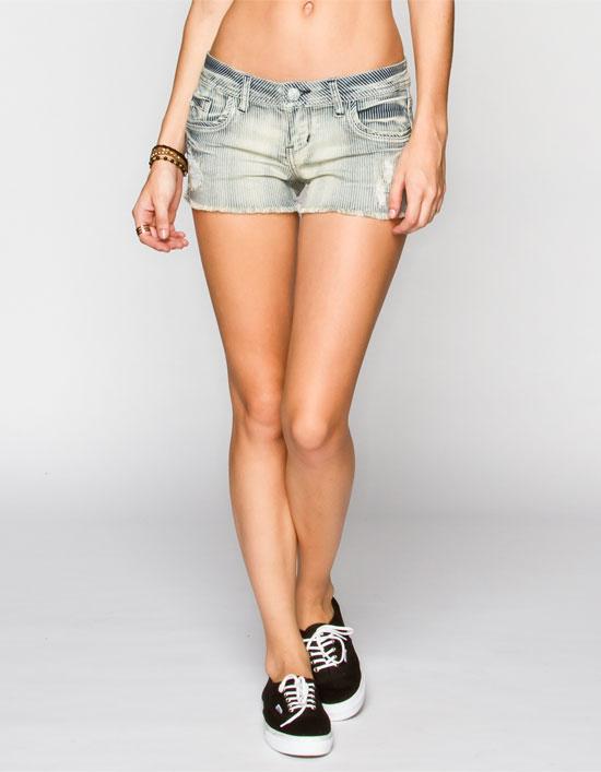 VOLCOM Chonies Womens Denim Shorts 227748805   Going Fast Sale   Tillys.com
