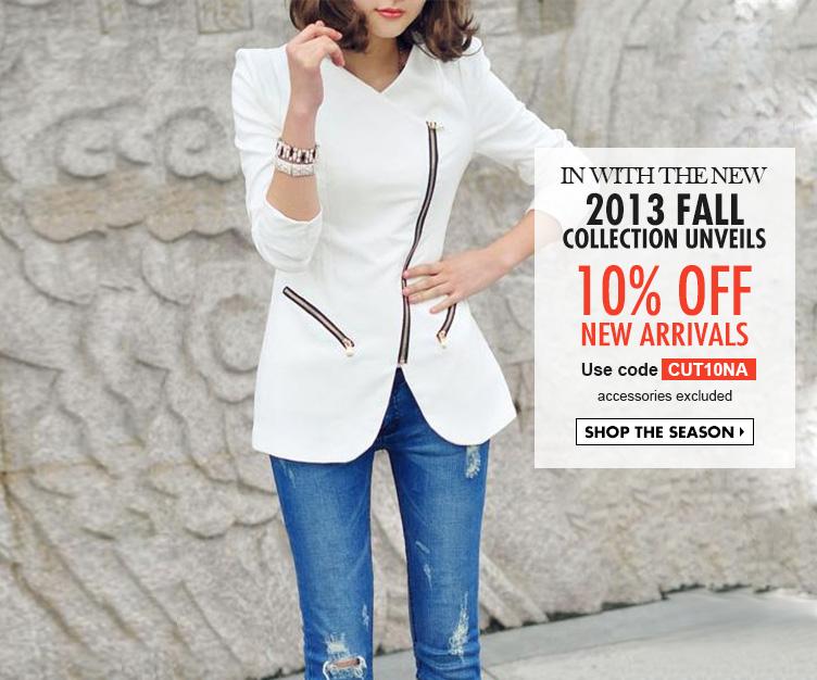 Unique style-the latest street fashion, shop women fashion online | WoaKao.com