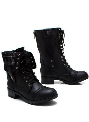 Amazon.com: New Shoes: Keep Tabs Combat Boots: Shoes