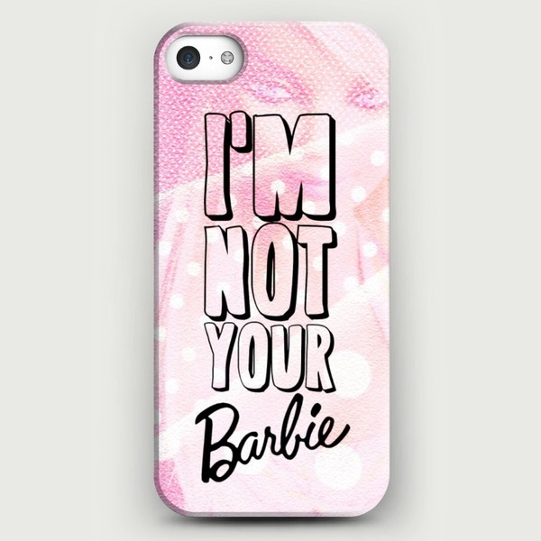 barbie fashion pink dress pink iphone case vintage girly jewels