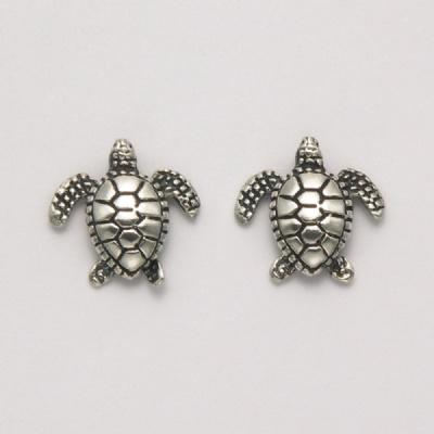 Small Sea Turtle Earrings