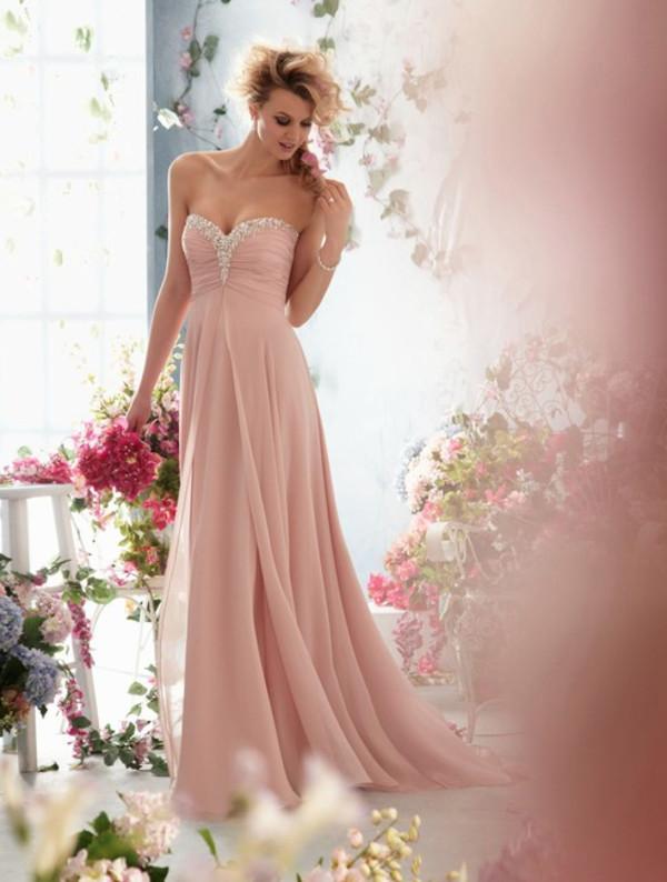 dress maxi dress prom dress long prom dress pink glitter