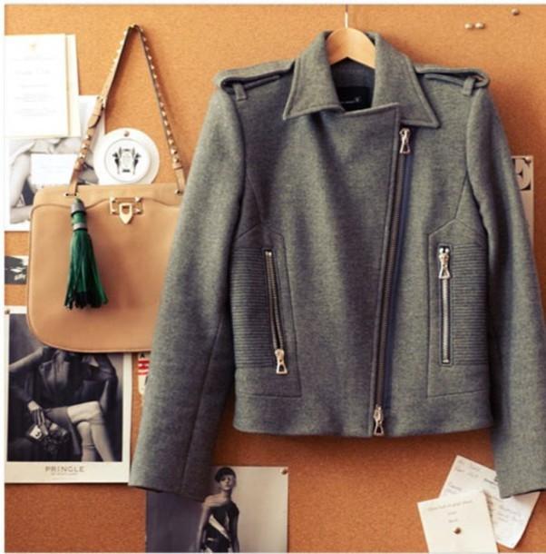 grey jacket isabel marant jacket spring jacket