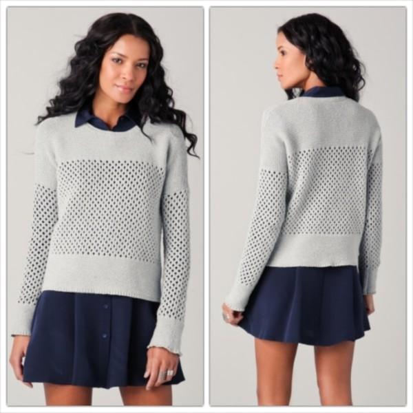 sweater theory theory sweater knit stylish sweater designer sweater celebrity style celebrity style winter sweater online boutique fashion boutique designer boutique clothes boutique women boutique online store