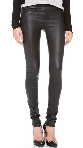 Helmut Lang Stretch Leather Pants | SHOPBOP