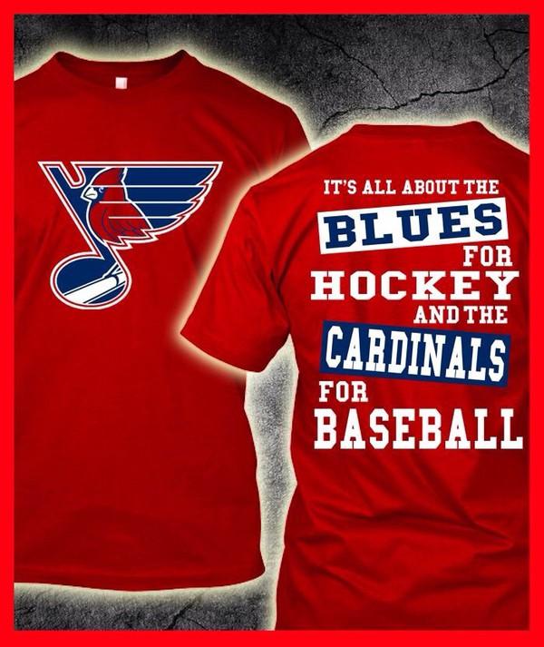 shirt, st. louis cardinals, hockey, baseball shirt, mens t ...